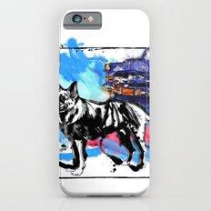 German Shepherd pop art iPhone 6s Slim Case