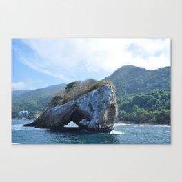 Vallarte Stone Canvas Print