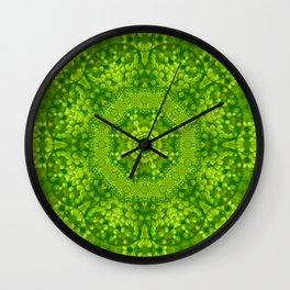 Spring flower joy Wall Clock