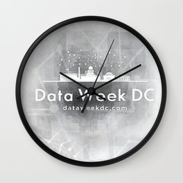 Data Week VIII Wall Clock
