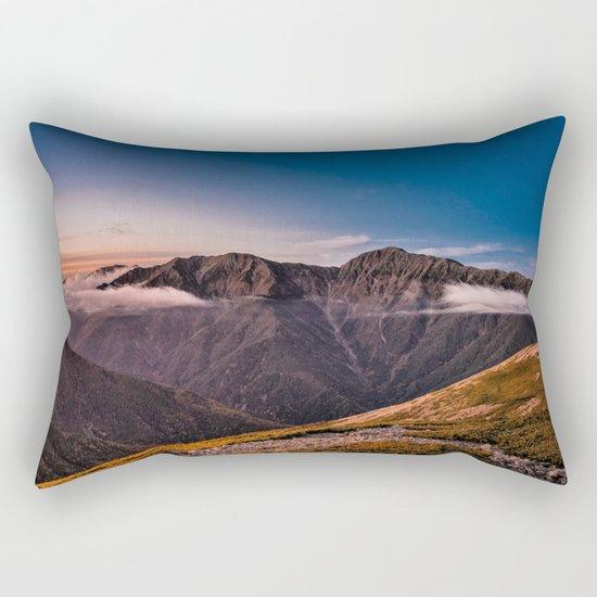 Southern Alps I Rectangular Pillow