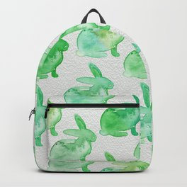 Watercolor Bunnies 1H by Kathy Morton Stanion Backpack
