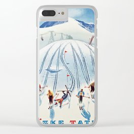 Nízke Tatry Clear iPhone Case