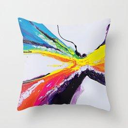 Abstract Art Britto - QB295 Throw Pillow