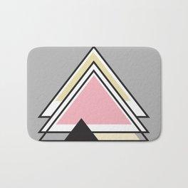 Minimalist Triangle Series 010 Bath Mat
