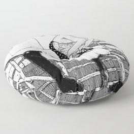 asc 780 - La glissade (Sliding into temptation) Floor Pillow