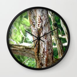 Friendship is Freedom - Singapore Wall Clock