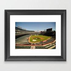 Texas Rangers Ballpark in Arlington Framed Art Print