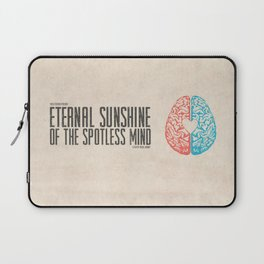 Eternal Sunshine of the Spotless Mind - Alternative Movie Poster Laptop Sleeve