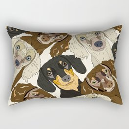 Doxie Nation Rectangular Pillow