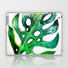 Tropical Greenery - Philodendron Leaf Laptop & iPad Skin