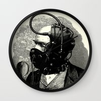 bdsm Wall Clocks featuring BDSM X by DIVIDUS