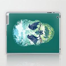 Nature's Skull (Green) Laptop & iPad Skin