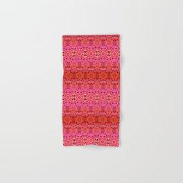 Pink Haze Bandana Ombre' Stripe Hand & Bath Towel