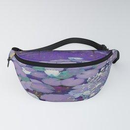 Purple Lake Dreaming Fanny Pack