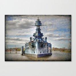 USS Texas Canvas Print
