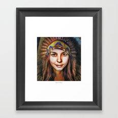 Loish Portrait Framed Art Print