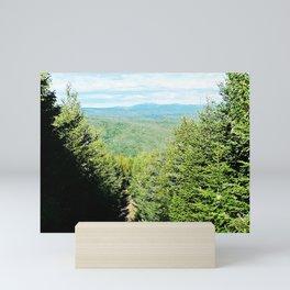 Mountain trail Mini Art Print