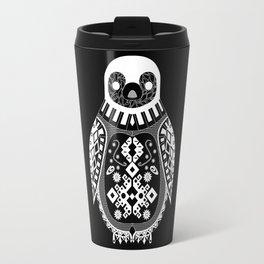 Black Penguin. Travel Mug