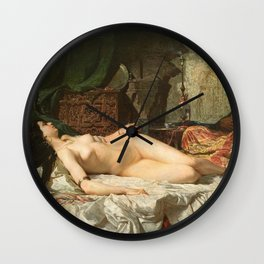The Odalisque - Fortuny Wall Clock