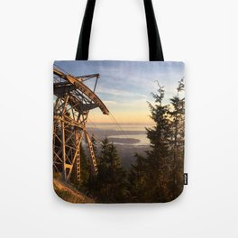Grouse mountain, Vancouver, Canada Tote Bag