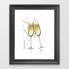 Sante Framed Art Print