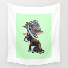 Stable Love Wall Tapestry