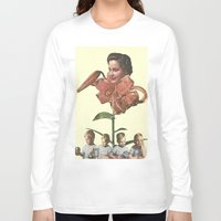 mother Long Sleeve T-shirts featuring Mother by collageriittard