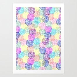 Netball love Art Print