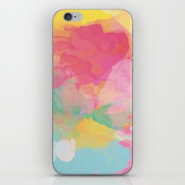 RAINBOW SPLATTER LAYERS iPhone Skin