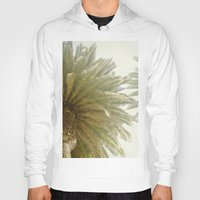 palm trees Hoodies featuring Palm Trees by The ShutterbugEye