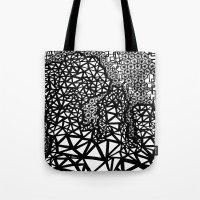 big bang Tote Bags featuring Big Bang by Cori Hills