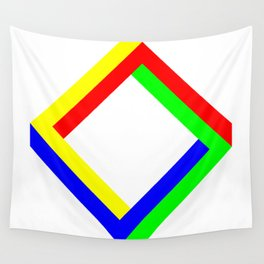 Penrose Square Rotate 45 Wall Tapestry