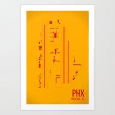 PHX Art Print