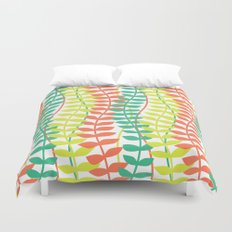 seagrass pattern - tropical Duvet Cover