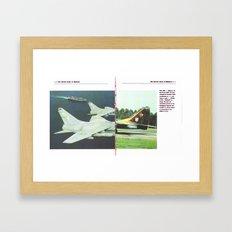 Planes # 16 Framed Art Print