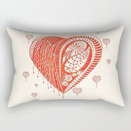 Thorny Heart Rectangular Pillow