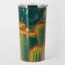 Red Needled Cactus Travel Mug