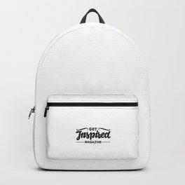 Get Inspired Magazine Logo Black Backpack