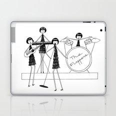 Flapper Band Laptop & iPad Skin