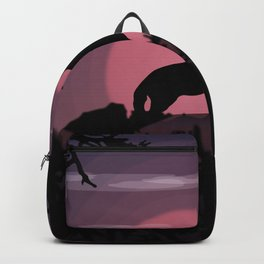 Wolf full moon Backpack