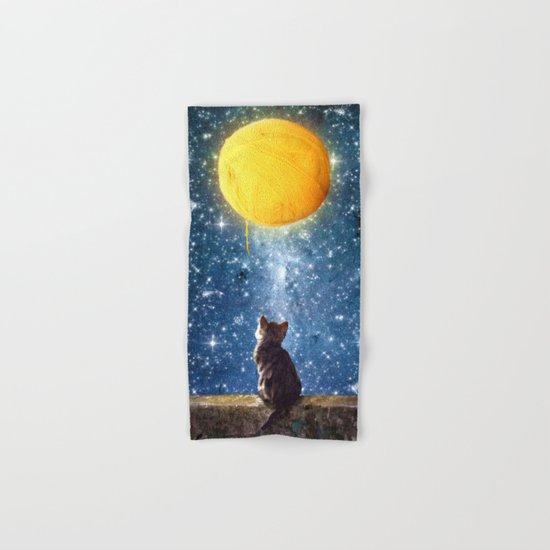 A Yarn of Moon Hand & Bath Towel
