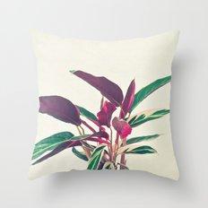 Prayer Plant Throw Pillow