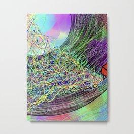 Colorful Music Metal Print