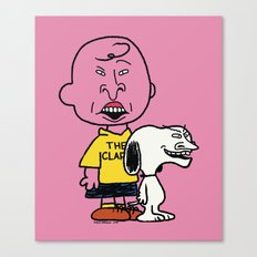 Peanuts and Butthead Canvas Print
