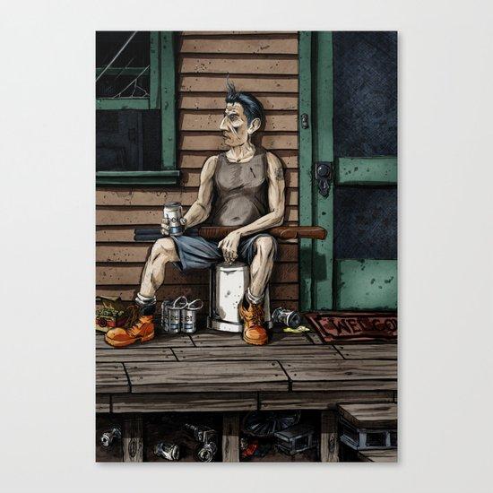 The Mungler Canvas Print