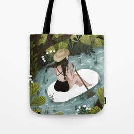 Down the River Tote Bag