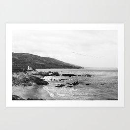 Malibu California Coastline - Leo Carrillo State Park Art Print