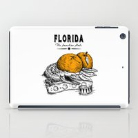 florida iPad Cases featuring Florida by Krikoui