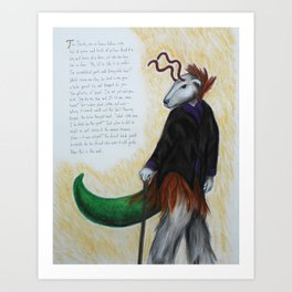 The Dandy Art Print